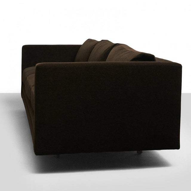 Harvey Probber Harvey Probber Chocolate Sofa For Sale - Image 4 of 7