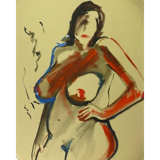 Nude in Red For Sale