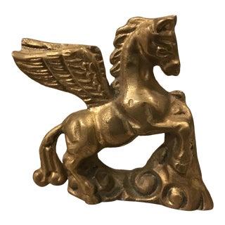 Pegasus Brass Paper Weight