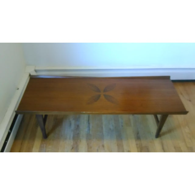 Lane Mid Century Modern Rosewood Coffee Table Chairish