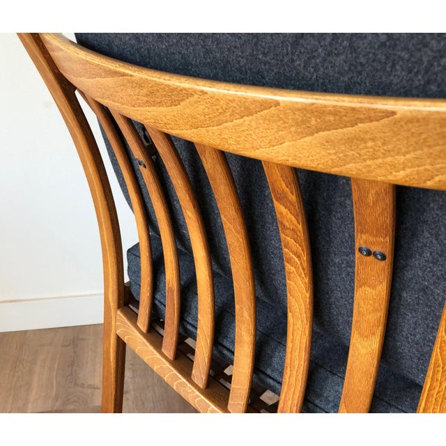 Danish Mid-Century Modern Side Chair by j.m. Birking For Sale - Image 9 of 13