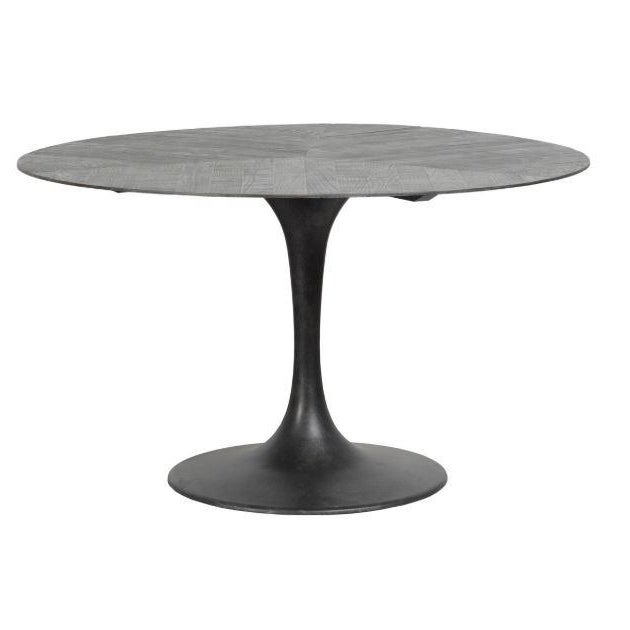 "2020s Kenneth Ludwig Crestview Round 55"" Round Dining Table For Sale - Image 5 of 5"