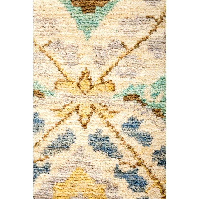 "Suzani Hand Knotted Area Rug - 4' 1"" X 6' 0"" - Image 3 of 4"
