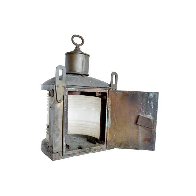 Vintage Marine Ship Light For Sale - Image 4 of 6