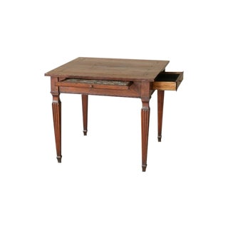 19th Century Italian Walnut Game Table