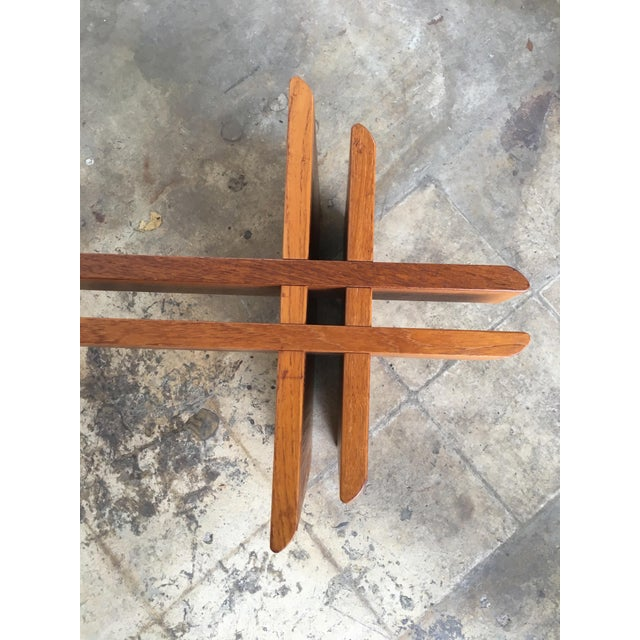 Gustav Gaarde for Trekanten Mid Century Modern Danish Coffee Table For Sale In Miami - Image 6 of 11