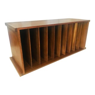 George Nelson Css Record Bookcase Mid Century Modern Eames For Sale