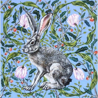 """Jack Rabbit"" Original Artwork by Naomi Jones For Sale"