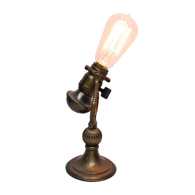 Vintage Brass Desk Lamp - Image 1 of 4