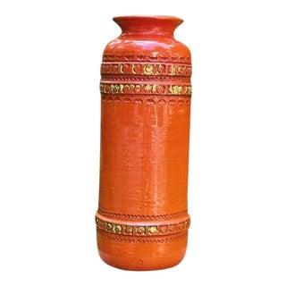 Large Vintage Aldo Londi Bitossi Vase For Sale