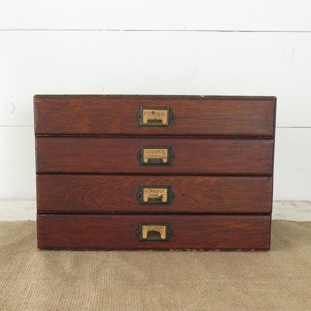 Vintage File Box - Image 2 of 10