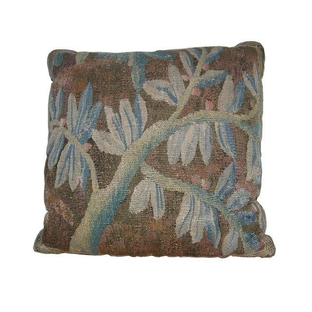 17th Century 17th Century Antique Flemish Pillow For Sale - Image 5 of 5