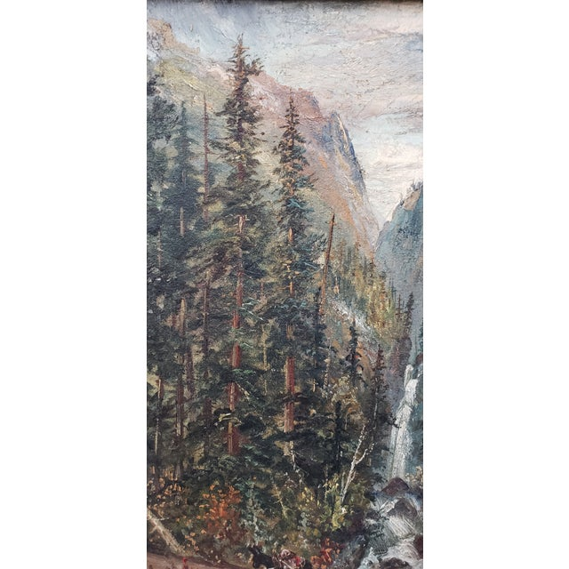 Late 19th Century Boulder Canyon Original Oil Painting By Learned C 1887 Chairish Otherwise the risk of injuries is too high. chairish