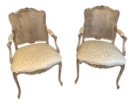 Image of Animal Print Accent Chairs