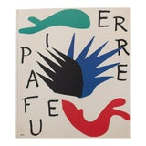 "Image of Henri Matisse ""The First Art Pocket Book Cover"" First Edition Poster For Sale"