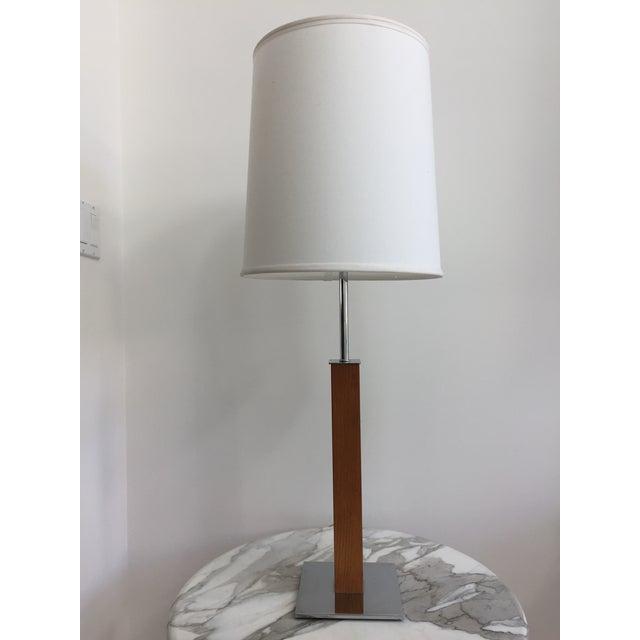 White Walter Von Nessen Minimalist Table Lamp For Sale - Image 8 of 10