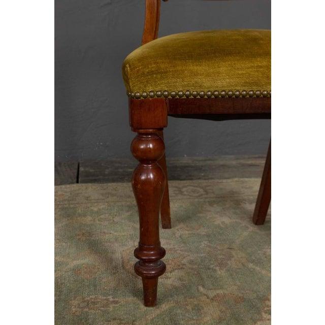 Single Mahogany Side Chair, William IV English - Image 10 of 11