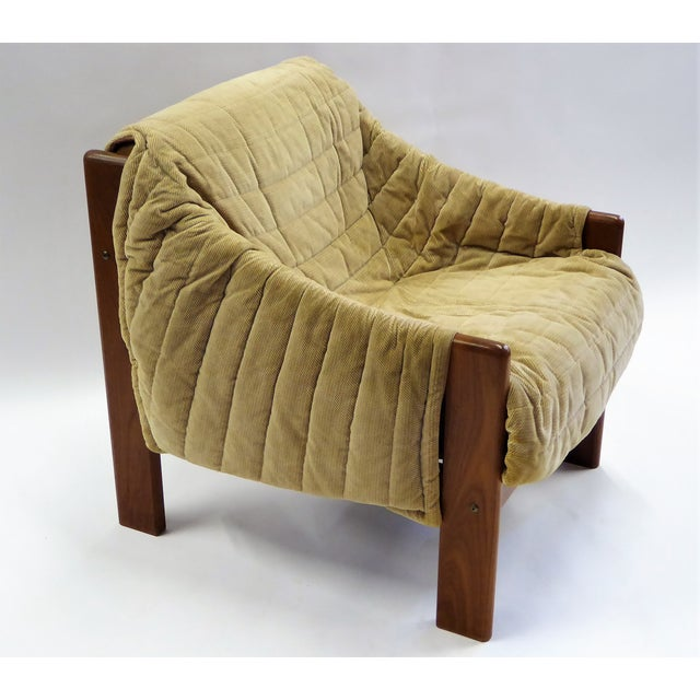 1970s Domino Mobler Danish Modern Solid Teak Lounge Chair For Sale In Miami - Image 6 of 13