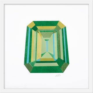 """Small """"Emerald Cut"""" Print by Rankin Willard, 20"""" X 20"""" For Sale"""