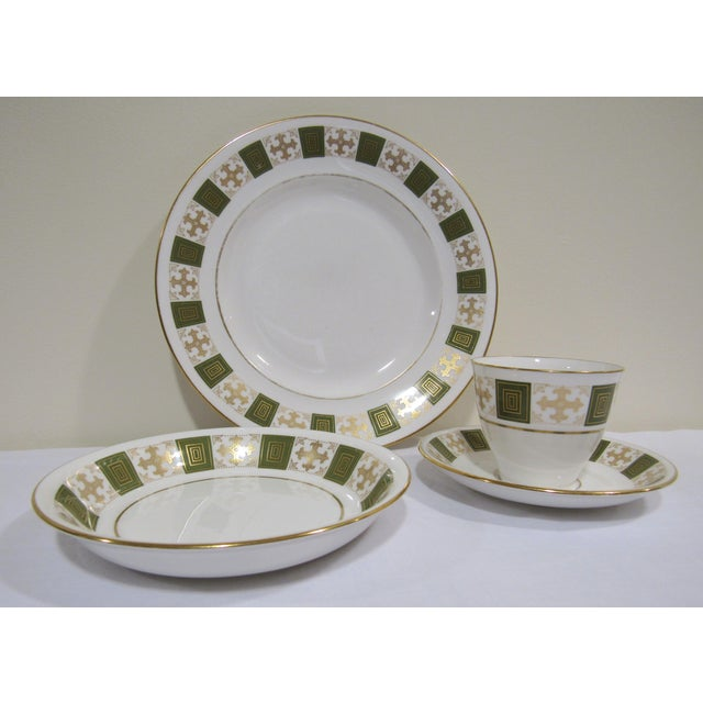 Traditional Spode Dishes Set For Sale - Image 3 of 9