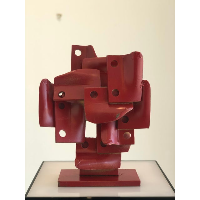 Vintage Brutalis Sculpture by Edgar Negret For Sale - Image 10 of 10