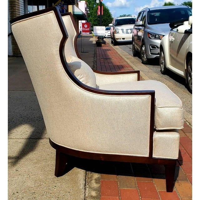 Condition: New Henredon Furniture Barbara Barry Accent/Lounge Chair w/ Kidney Pillow **We have the matching ottoman for...