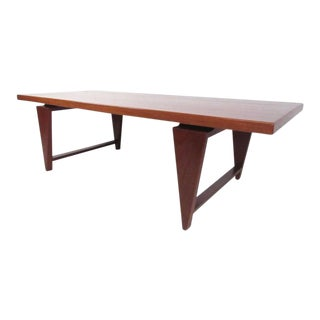 Mid-Century Modern Teak Coffee Table by Illum Wikkelsø For Sale