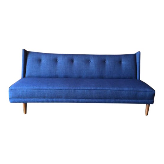 Mid-Century Style Custom Sofa - Image 1 of 9