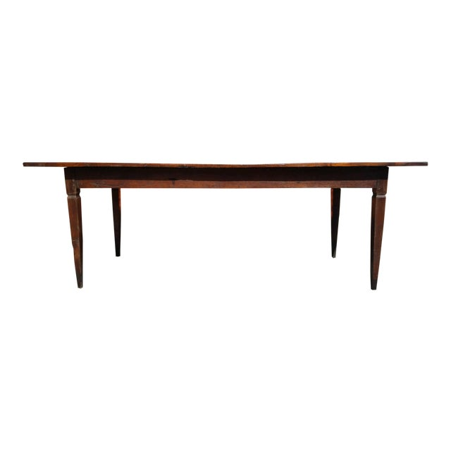 Antique French Farm Table - Image 1 of 8