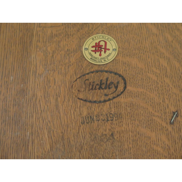 Stickley Mission Oak Arts & Crafts Occasional End Table For Sale - Image 9 of 10