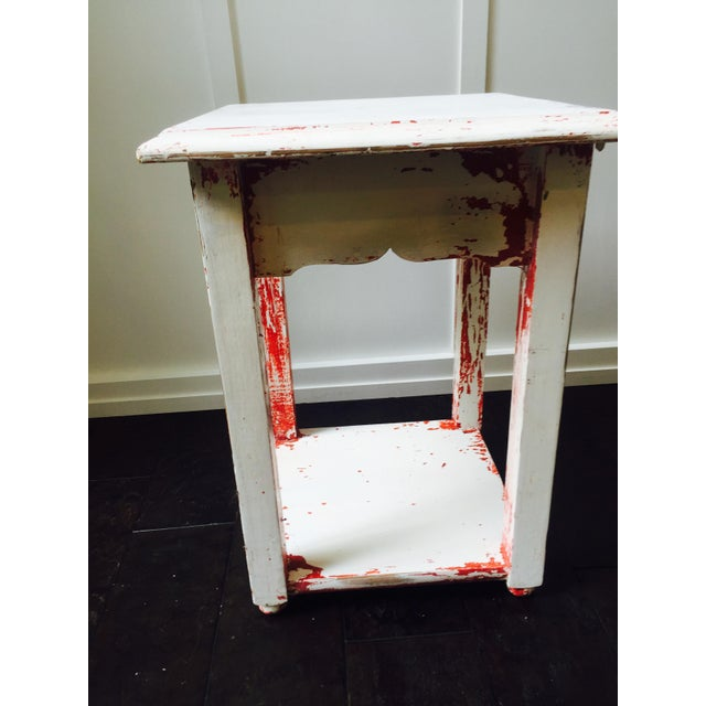 Shabby Chic Side Table - Image 2 of 6