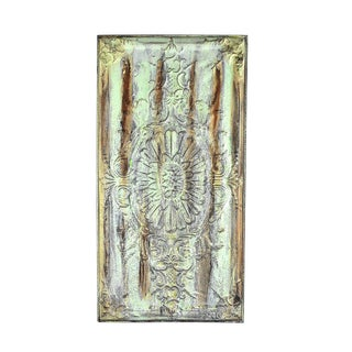 Antique Ceiling Panel Wall Art For Sale