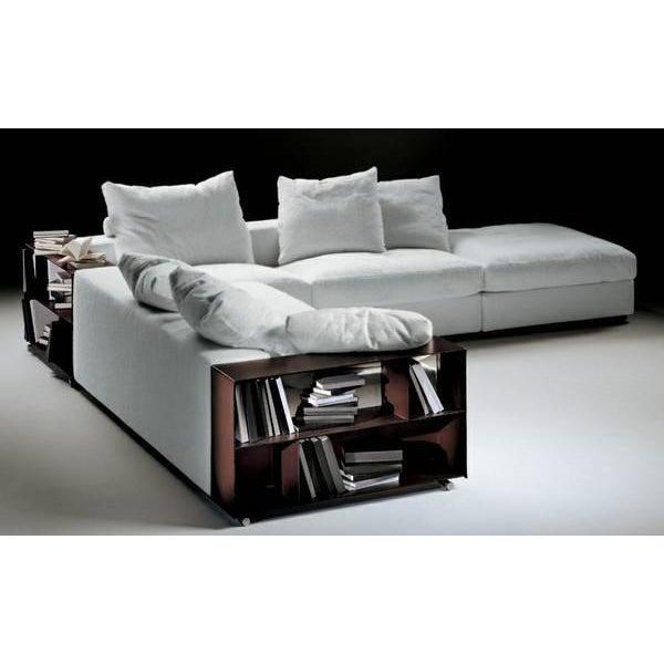 Animal Skin Flexform Custom Made Groundpiece Sofa For Sale - Image 7 of 11