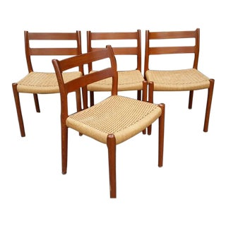 Niels Otto Moller #84 Dining Chairs - Set of 4