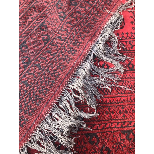 Vintage Hand-Knotted Wool Rug- 6′7″ × 10′7″ For Sale - Image 10 of 13