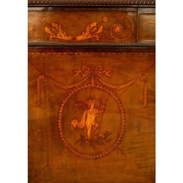 Mid 18th Century Rare and Important 18th Century English Adam Commode For Sale - Image 5 of 8