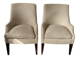 Image of Newly Made Transitional Wingback Chairs