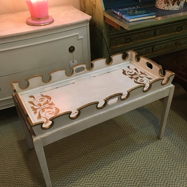 Amy Howard Painted Coffee Table - Image 3 of 4