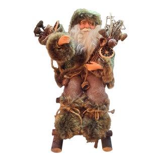 1980s Woodland Santa Claus For Sale