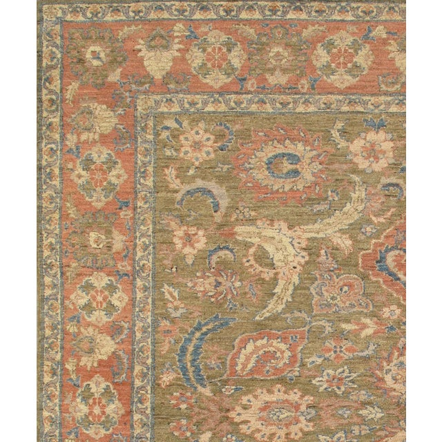 Meet Pasargad's Sultanabad rug Collection. This rug's handmade, hand-knotted construction adds durability to the rug,...