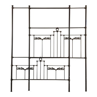 European Style Metal Four-Poster Bed Frame