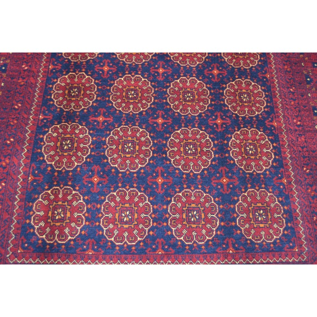 This gorgeous hand knotted oriental rug is made with 100% lambs wool. This rug will add a stunning design accent to your...