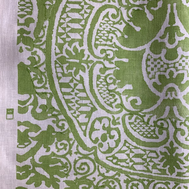 A classic and iconic pattern from Quadrille. Veneto in a vibrant lime green color way. 2 yards.