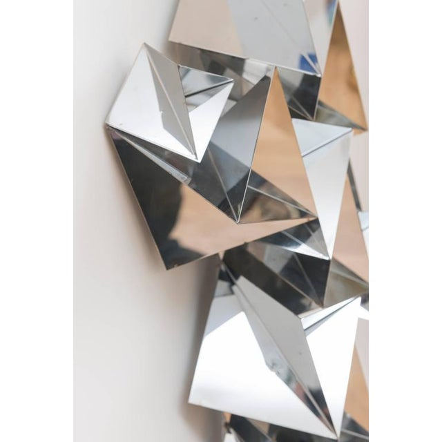 Curtis Jere Chrome Sculpture For Sale - Image 9 of 11