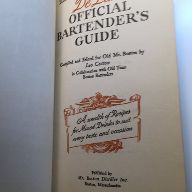 """""""Old Mr. Boston Official Bartenders Guide"""" 1955 Book For Sale - Image 4 of 9"""