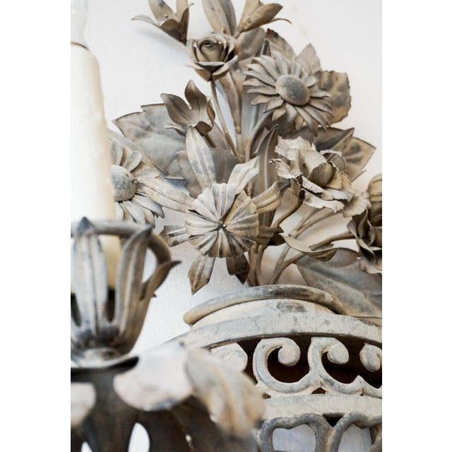 Pair of 19th Century French Sconces - A Pair For Sale In Dallas - Image 6 of 8