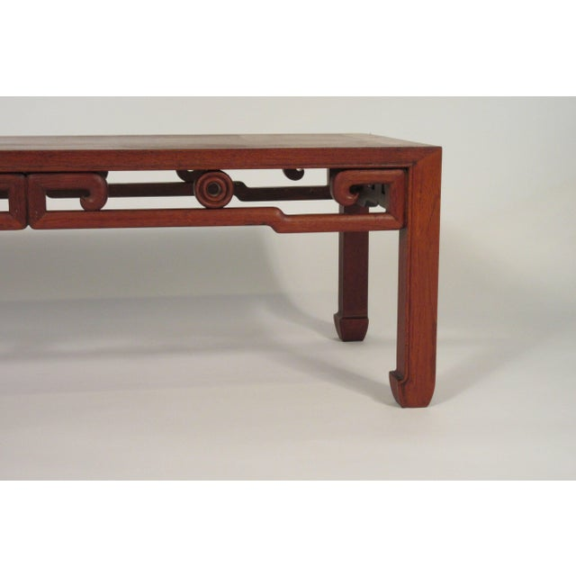 1950s Asian coffee table.