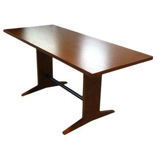 Oak Trestle Table For Sale