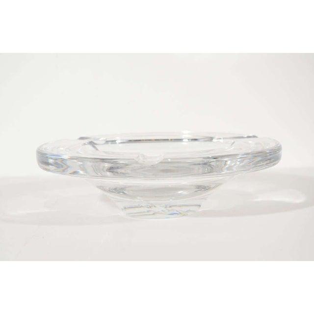 Kosta Boda Mid Century Modern Glass Ashtray by Lindstrand for Kosta Boda For Sale - Image 4 of 12