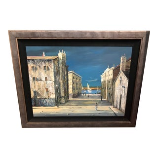 Italian Scene Painting Signed Donati For Sale